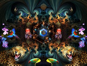 creation - Cosmic Shiva Design