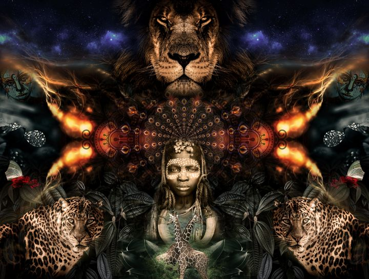 mama africa - Cosmic Shiva Design