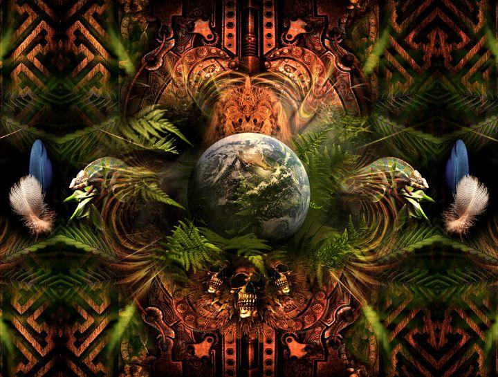 Awaken Dream - Cosmic Shiva Design