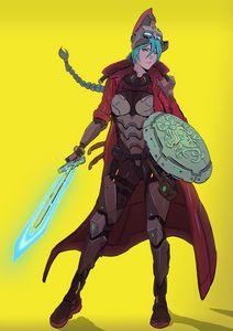 Cyberpunk Athena