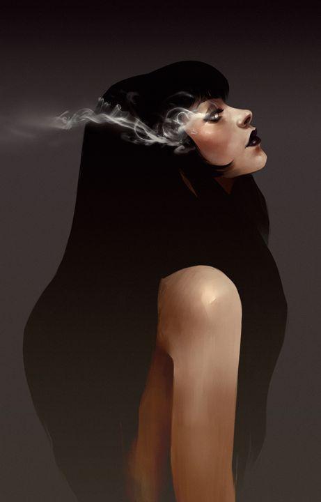 SMOKE EYES - Andra Hilde