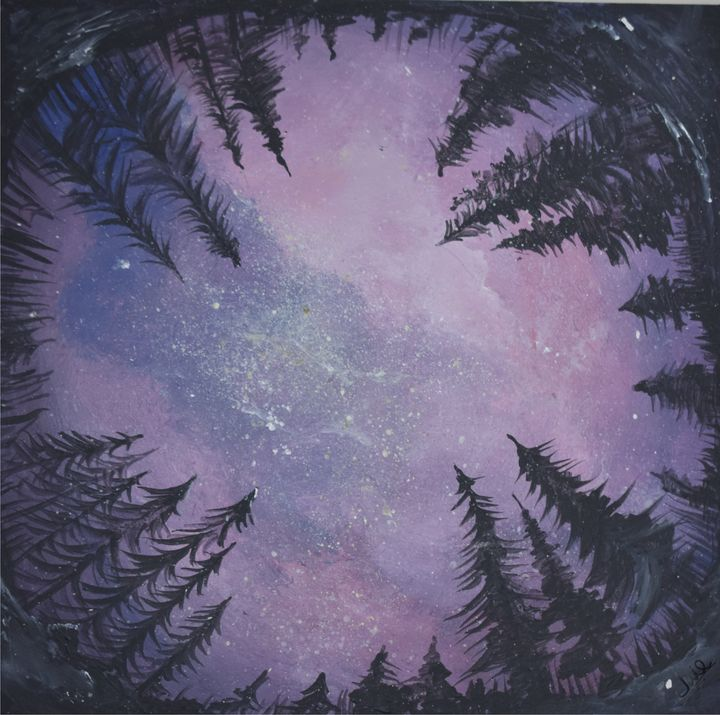 Stars above - Art by Juie