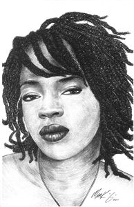 Illustration of Lauryn Hill
