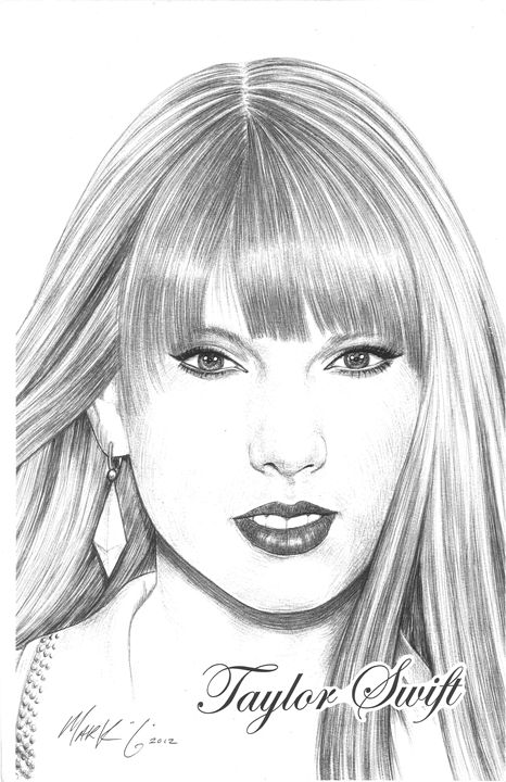 Red by Taylor Swift - Art by Mark G