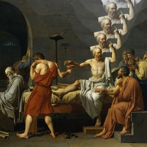 Ego death of Socrates