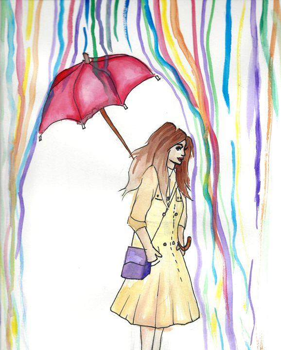 When it Rains - ArtbyNicole