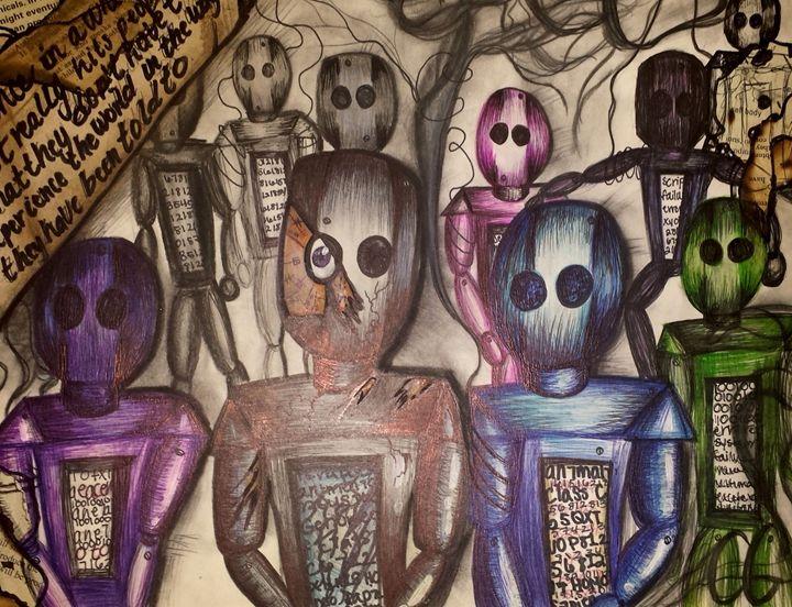 Blind Perspective - ArtbyNicole