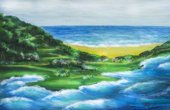 Sea (fragment) - Svitlana Ziuhanova