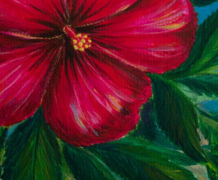 Flower (fragment) - Svitlana Ziuhanova