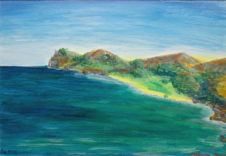 Coast in Spain - Svitlana Ziuhanova