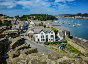 Conwy from the Castle