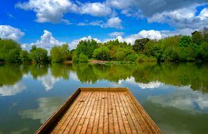 Apley Woods Lake