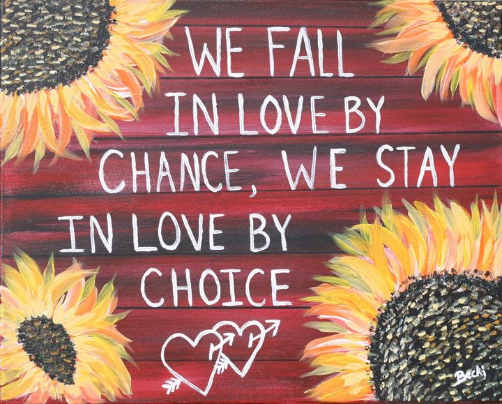 In Love by choice - Becki