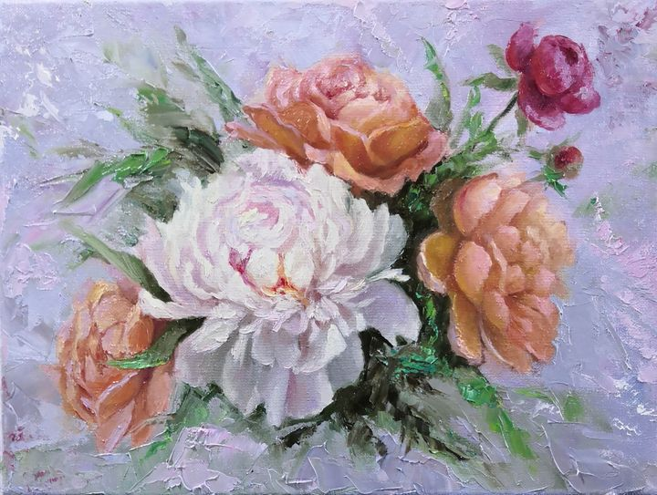 Peony fantasy - Artworks by Svetlana Belova