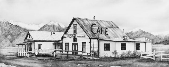 """""""Seaview Cafe'"""" - Ross Coleman Studio"""