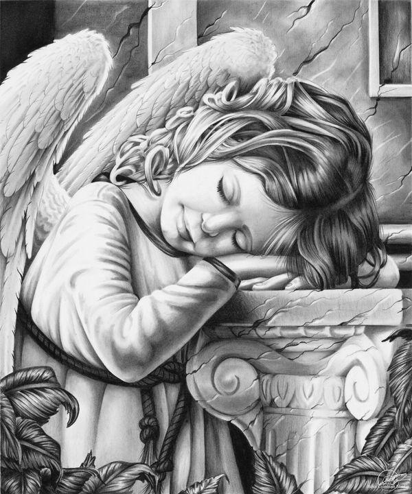 """""""Angel Sleeping"""" - Ross Coleman Studio"""