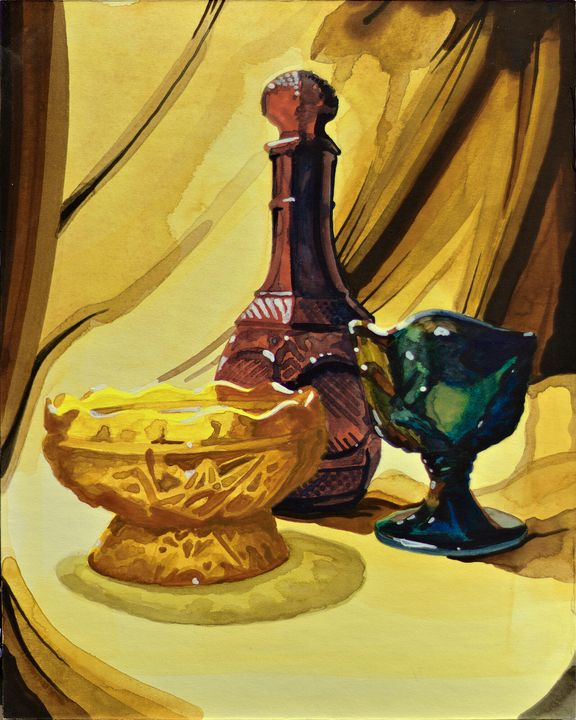 """Glass Still Life"" - Ross Coleman Studio"