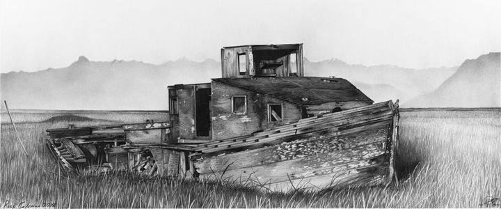 """Reddington's Boat"" - Ross Coleman Studio"