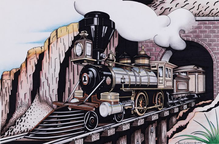 Train - Ross Coleman Studio
