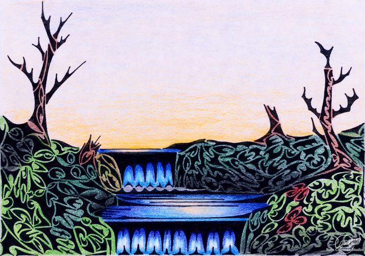 Waterfall - Ross Coleman Studio