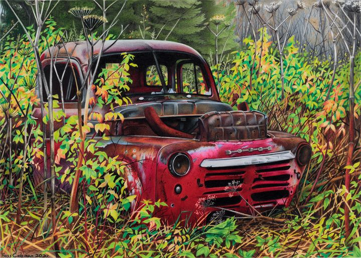 Red Dodge - Ross Coleman Studio