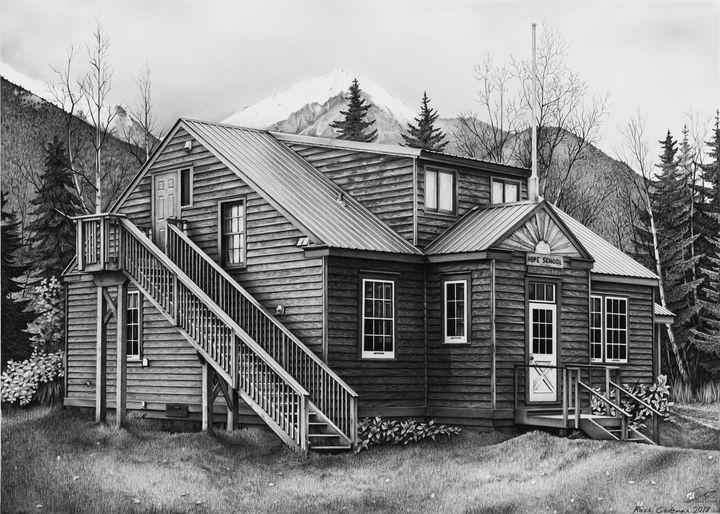 """Old Hope Schoolhouse"" - Ross Coleman Studio"