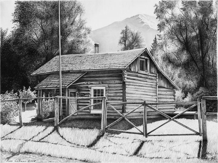 """""""The Passwater Cabin"""" - Ross Coleman Studio"""