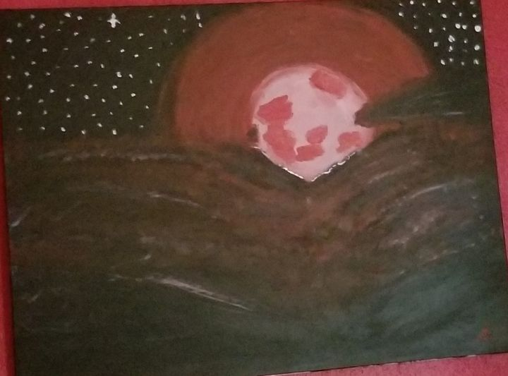 Super blood wolf moon - OReilly Arts