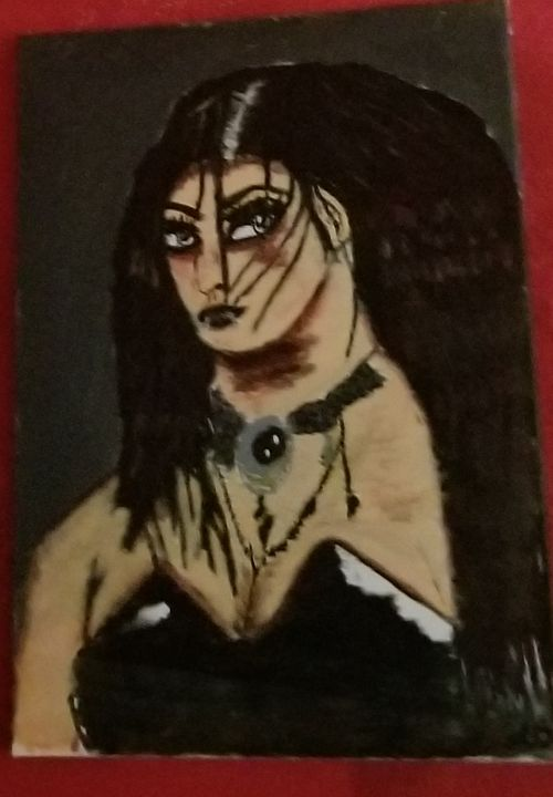 Gothic chick - OReilly Arts