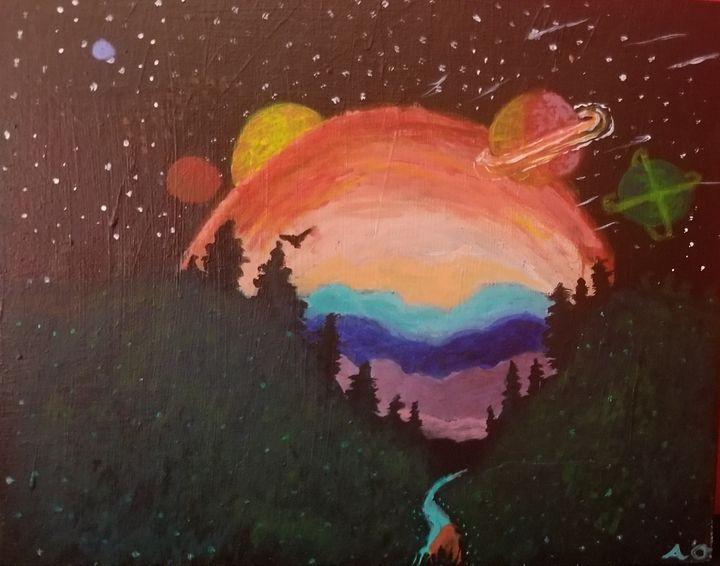 Universes - OReilly Arts
