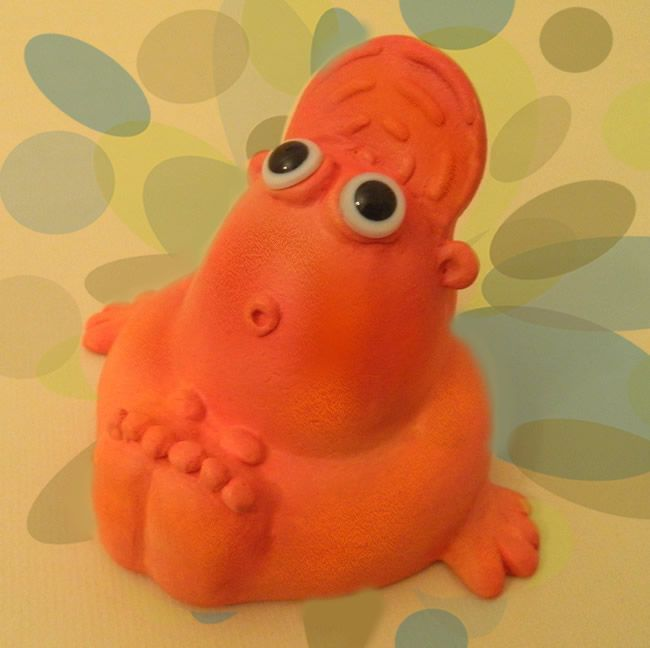 PC Buddy Original Ceramic Sculpture - JB Studio