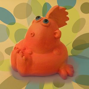 PC Buddy Original Ceramic Sculpture
