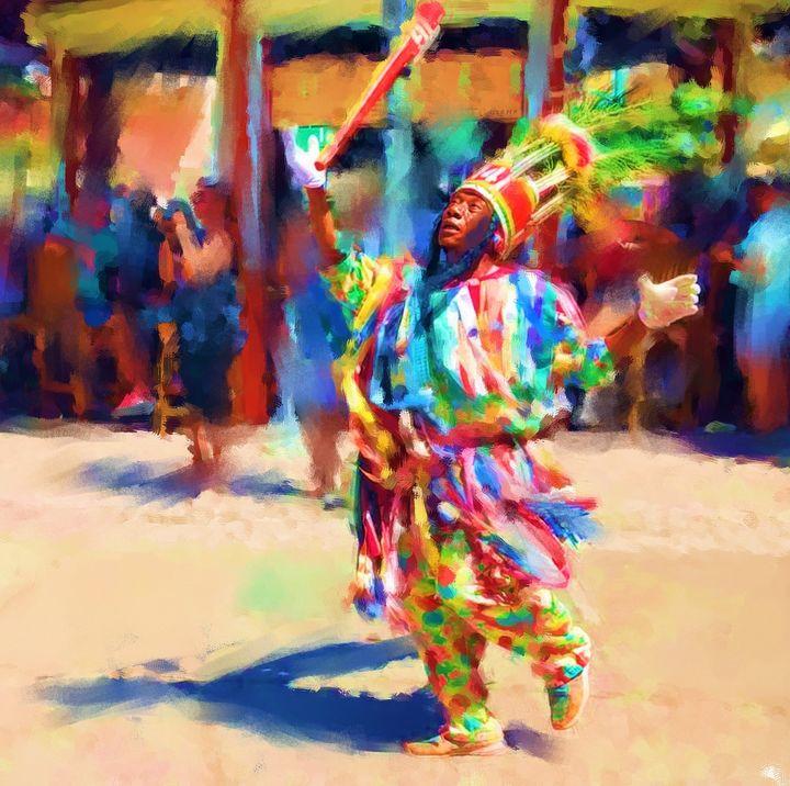 Caribbean Colors - Janet Nielsen Painting