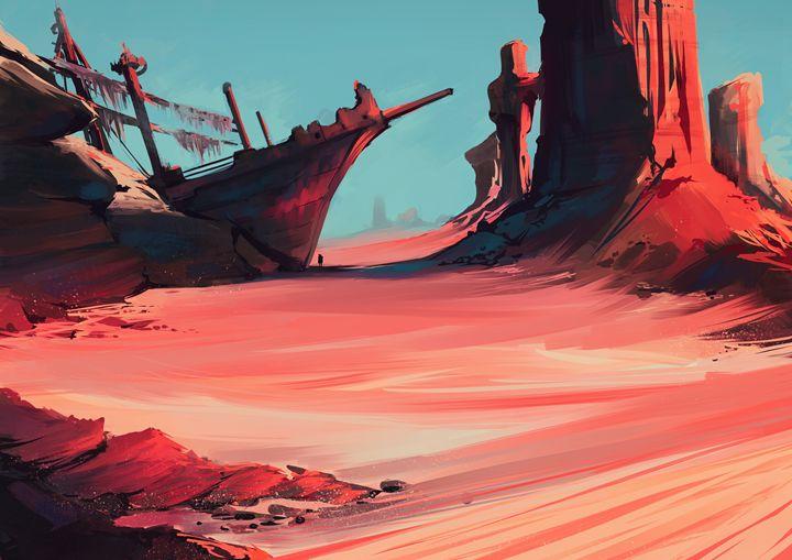 Ship wreck - GANJAKYUN