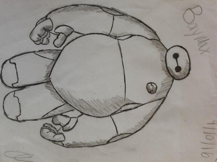 Baymax - Olivia's Cartoon drawings and greeting cards