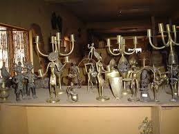 bronze carving - cheap african arts and crafts