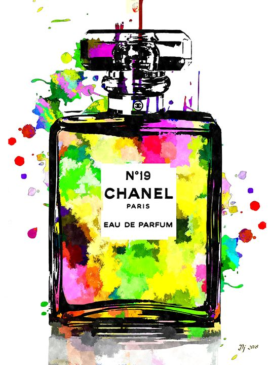 Chanel No. 19 Colored - Daniel Janda