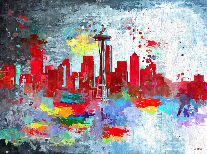 Seattle Skyline - Daniel Janda
