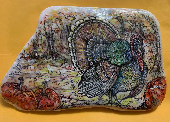 Turkey Painting - Hale Family Art