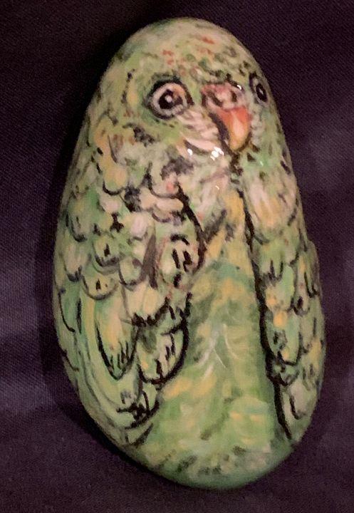Parakeet Rock - Hale Family Art