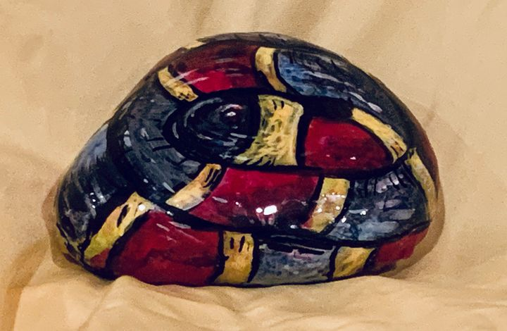 Snake rock - Hale Family Art