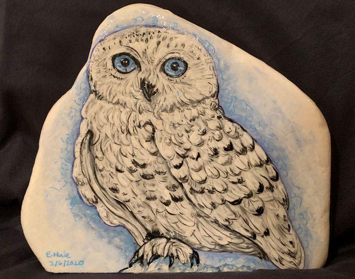 Snow Owl - Hale Family Art
