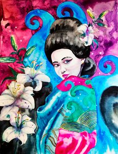Geisha and the Sea