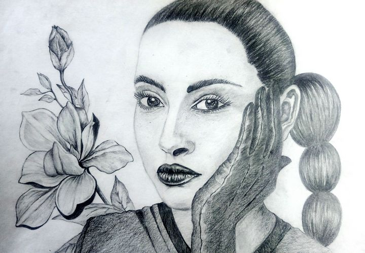 Portrait of a Woman - Ka.ta.s.art