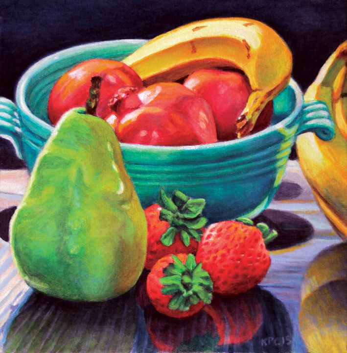 Stilll Life with Fruit - Kenneth P. Cobb