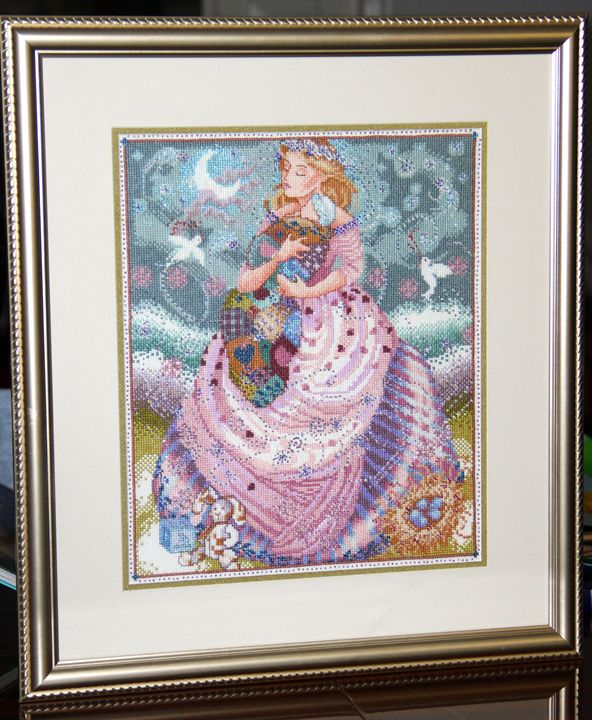 """Mother's Arms"" Mirabilia - Anna's Cross-Stitch"