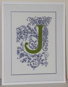 """""""Baroque style Alphabet"""""""
