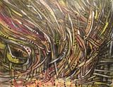 "18"" x 14"", acrylic on canvas board"