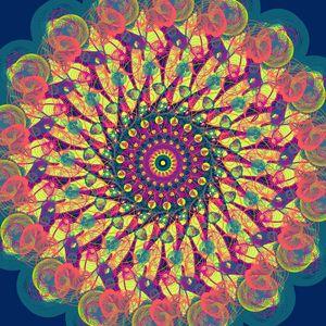 Neon Mandala 1