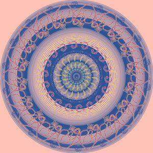 Pastel Deep Mandala